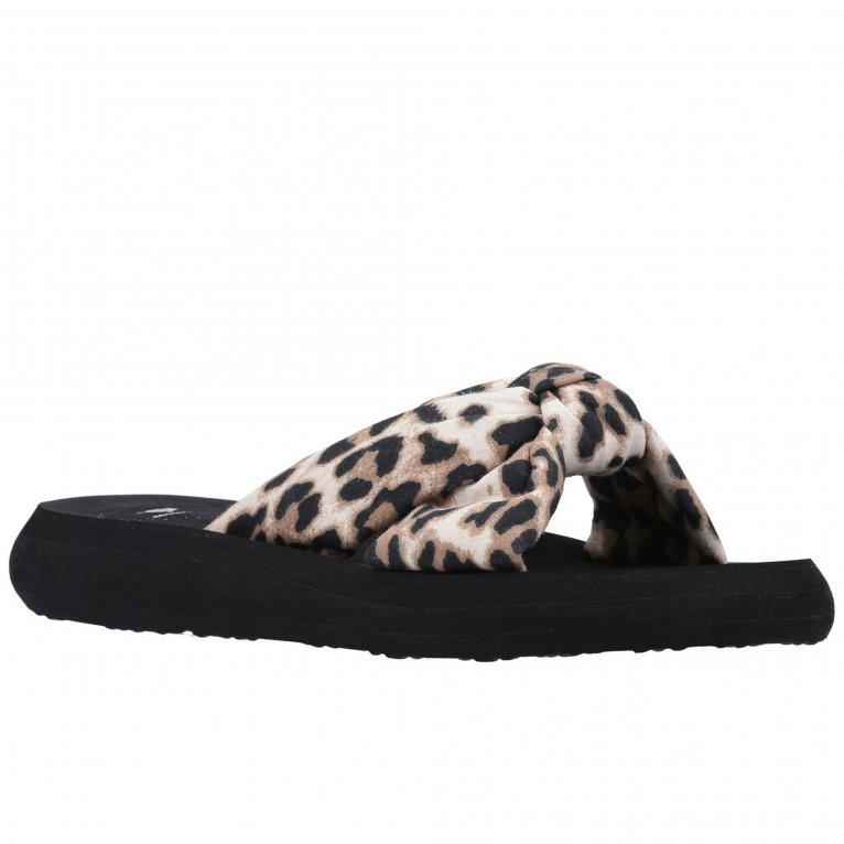 Rocket Dog Slade Veeno Leopard Womens Slip On Sandals