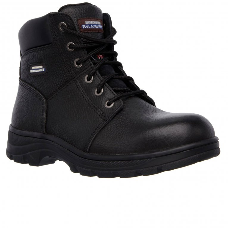 Skechers Workshire Mens Wide Fit Working Boots