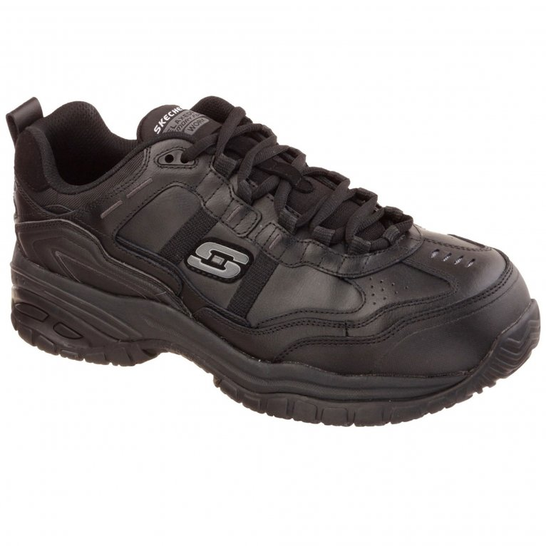 Skechers Soft Stride Grinnel Comp Mens Wide Fit Safety Shoes