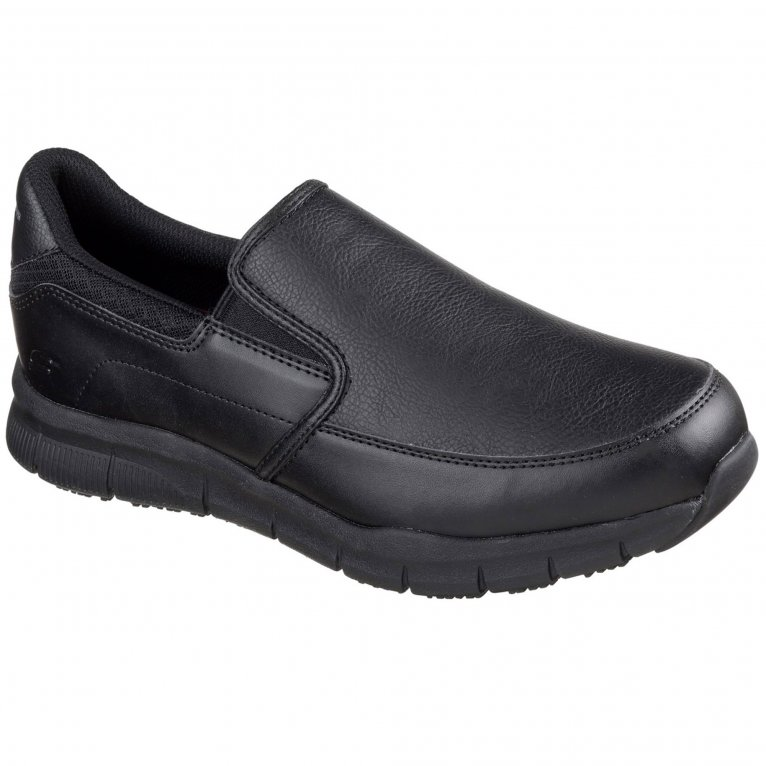 Skechers Nampa Groton Mens Casual Slip On Shoes