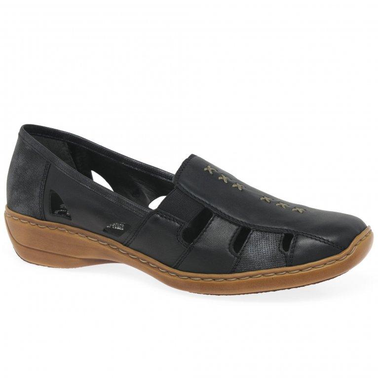 Rieker Denise Slip On Vamp Shoes