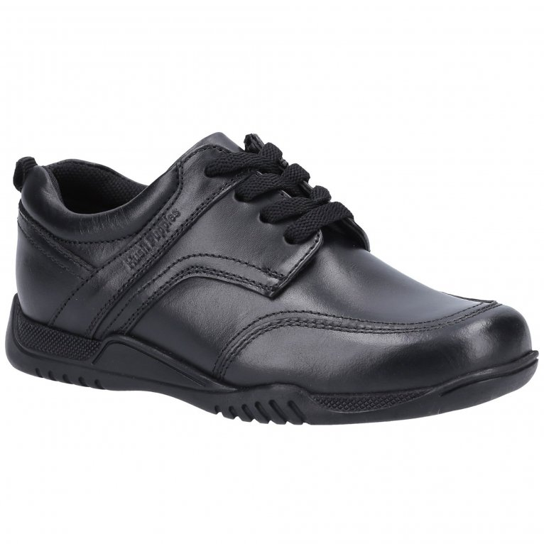 Hush Puppies Harvey Junior Boys School Shoes