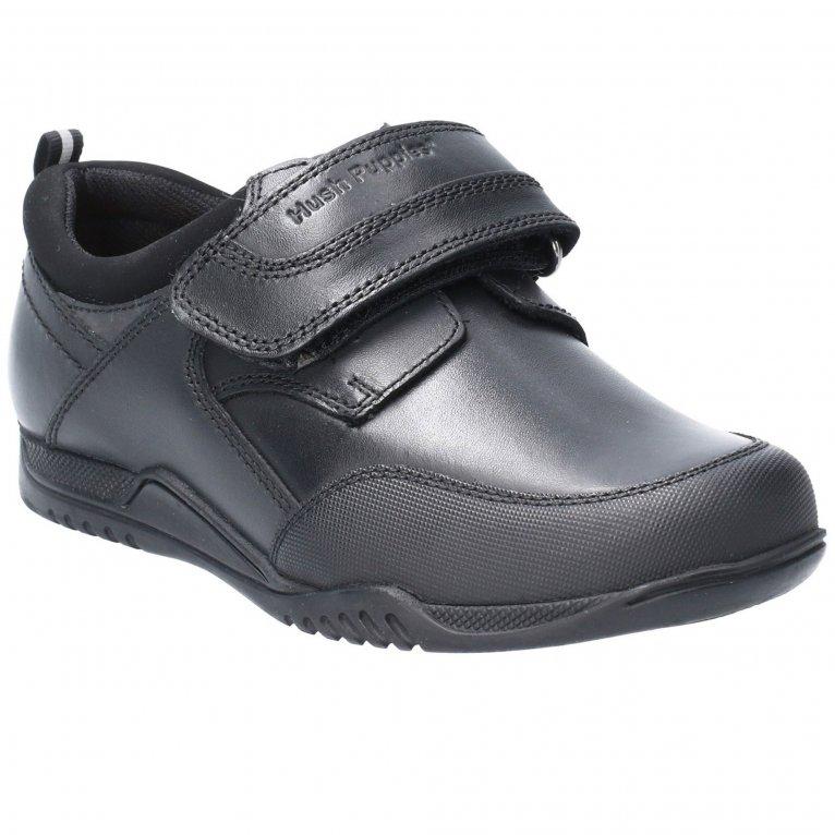 Hush Puppies Noah Junior Boys School Shoes