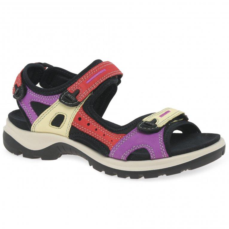 Ecco Offroad Multi Womens Casual Sandals