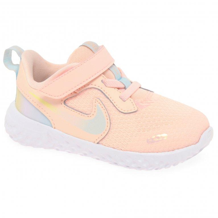 Nike Revolution 5 SE Girls Toddler Sports Trainers