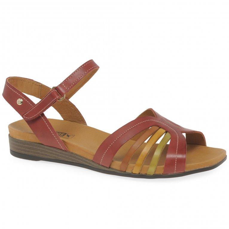 Pikolinos Ibiza Womens Low Wedge Heel Sandals