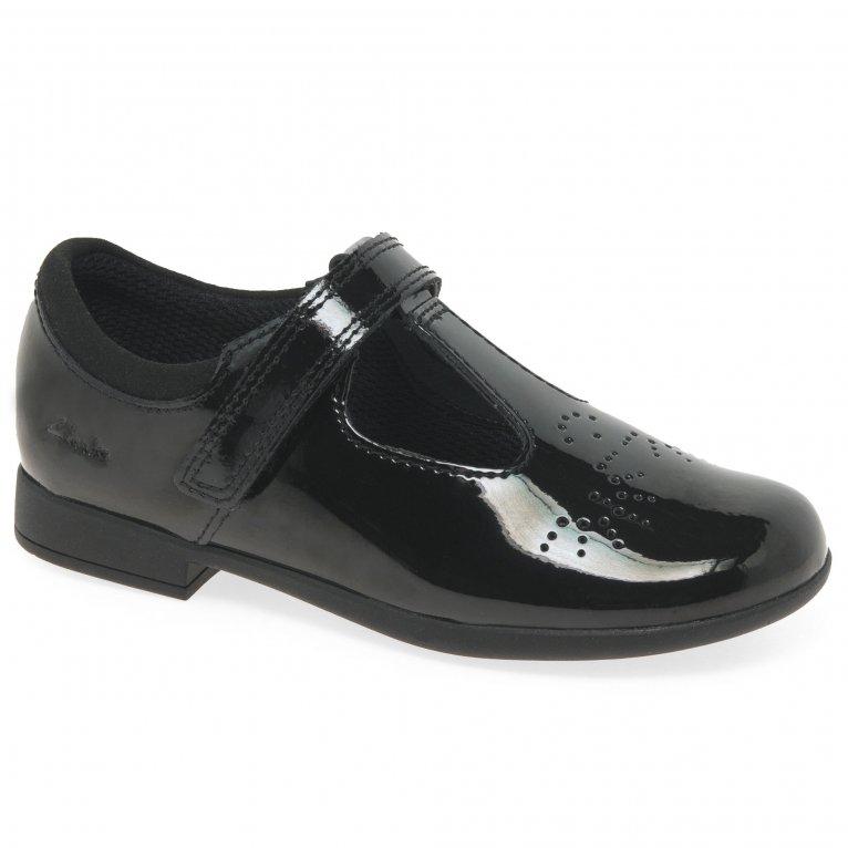 Clarks Scala Spirit Girls Infant School Shoes