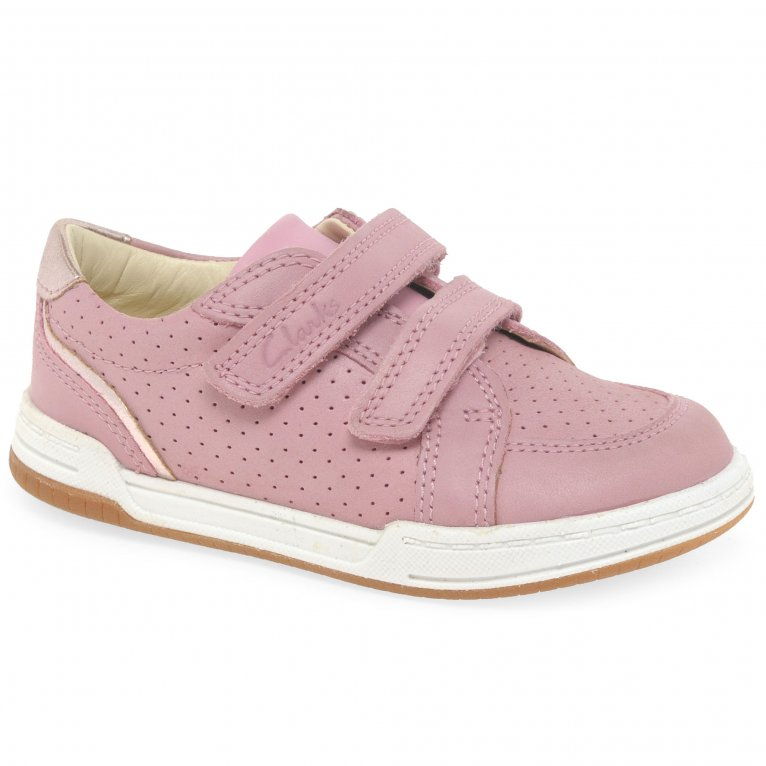 Clarks Fawn Solo T Girls Infant Trainers