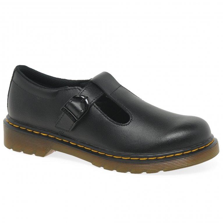 Dr. Martens Polley Girls Junior School Shoes