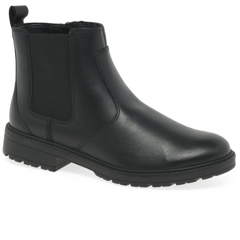 Clarks Loxham High Girls Senior Boots