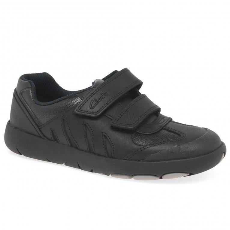 Clarks Rex Stride K Boys School Shoes