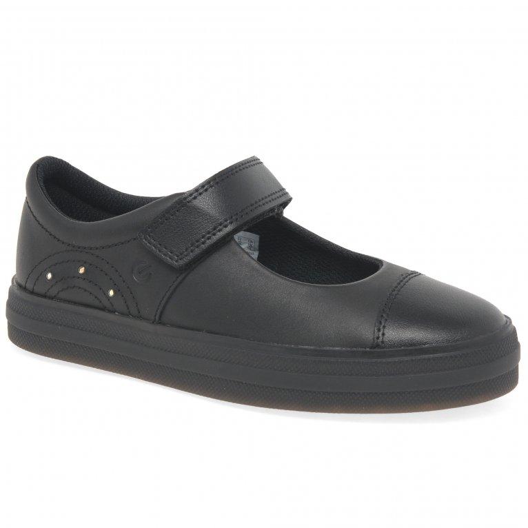Clarks Flare Shine K Girls School Shoes