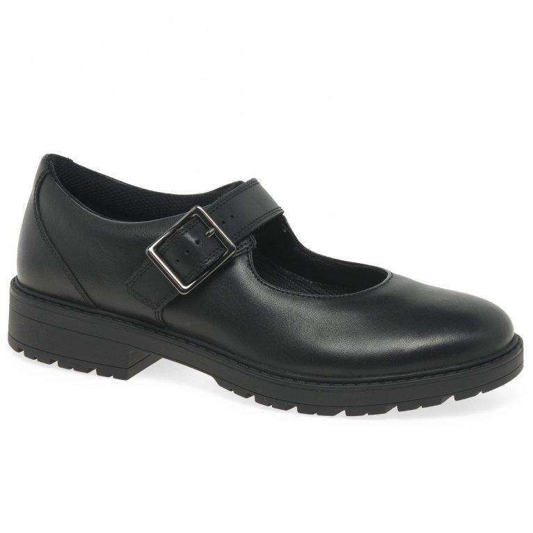 Clarks Loxham Walk Girls Senior School Shoes