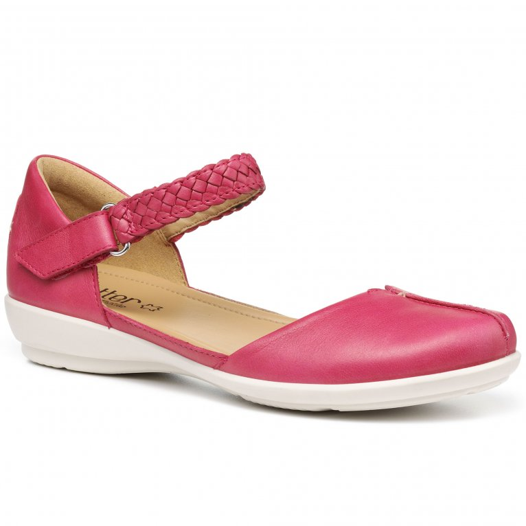 Hotter Lake Womens Wide Fit Mary Jane Shoes