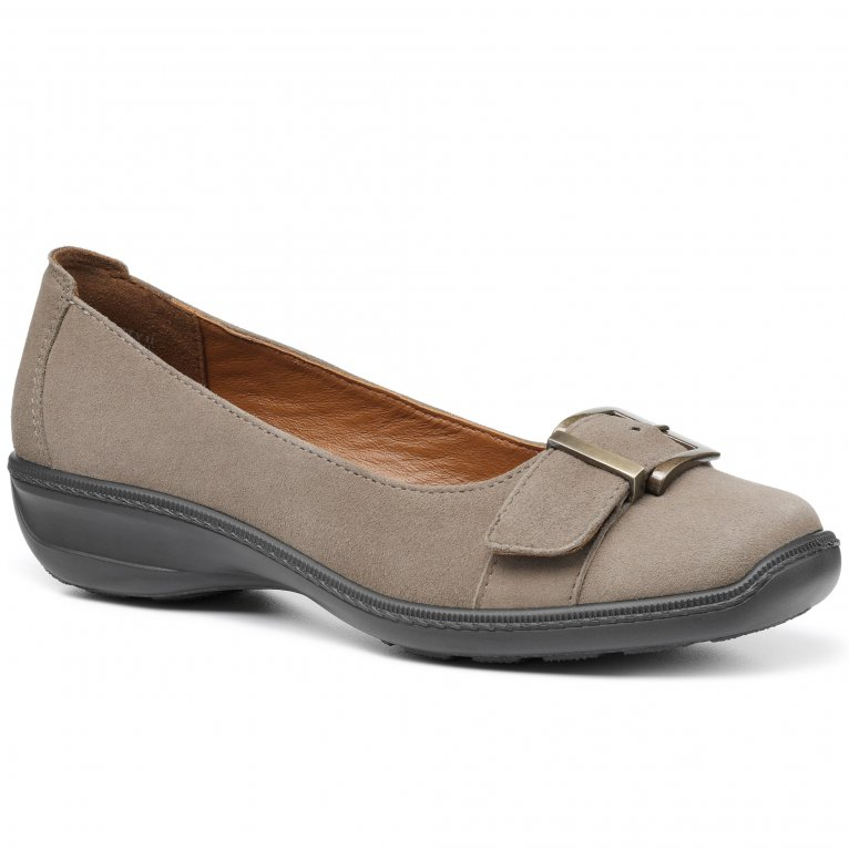 Hotter Trust Womens Wide Fit Slip On Shoes