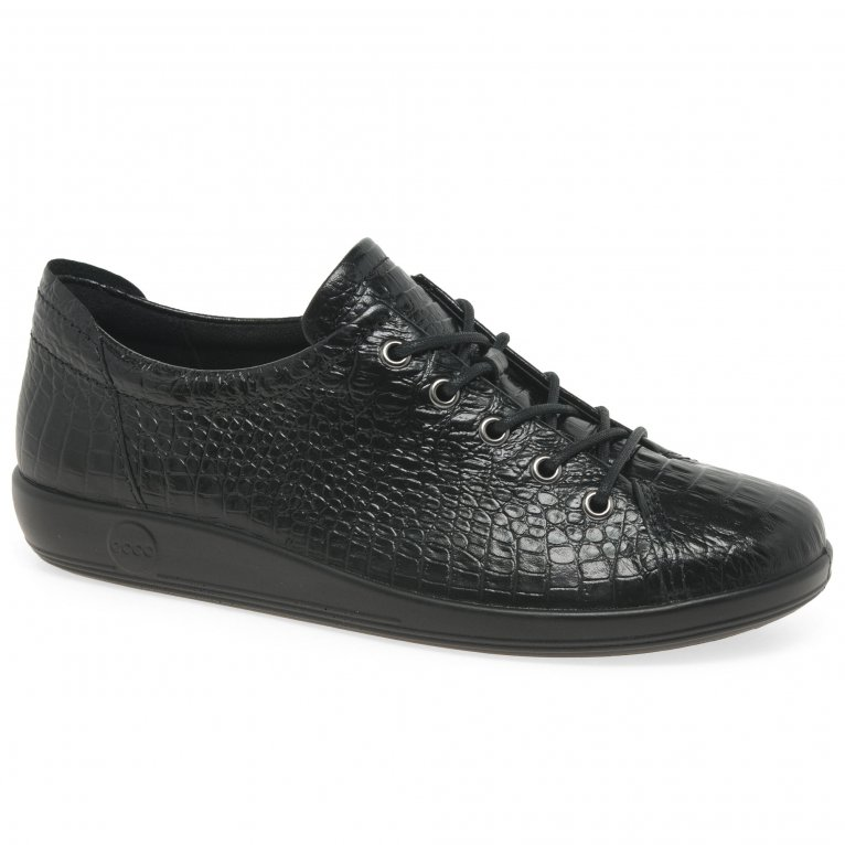 Ecco Soft 2 Lace Womens Casual Shoes