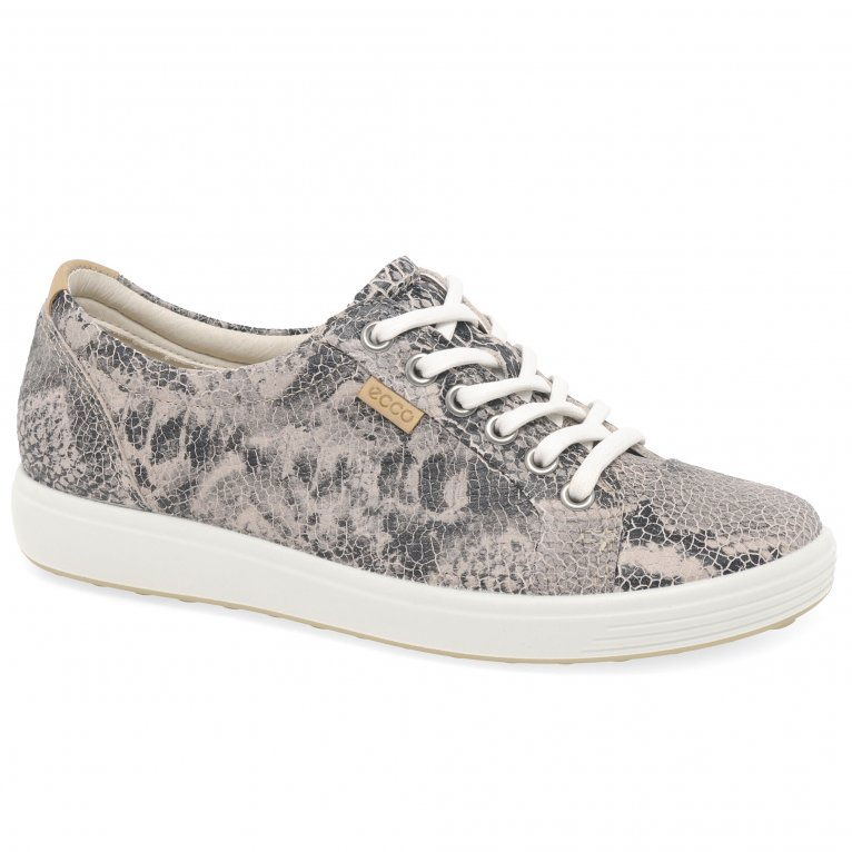 Ecco Soft 7 Lace Up Womens Shoes