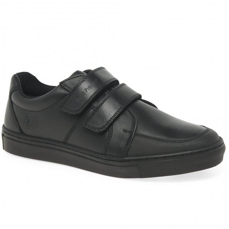 Hush Puppies Santos Boys Junior School Shoes