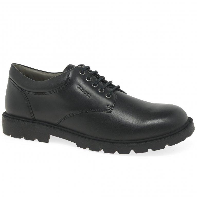 Geox Junior Shaylax Lace Boys Senior School Shoes