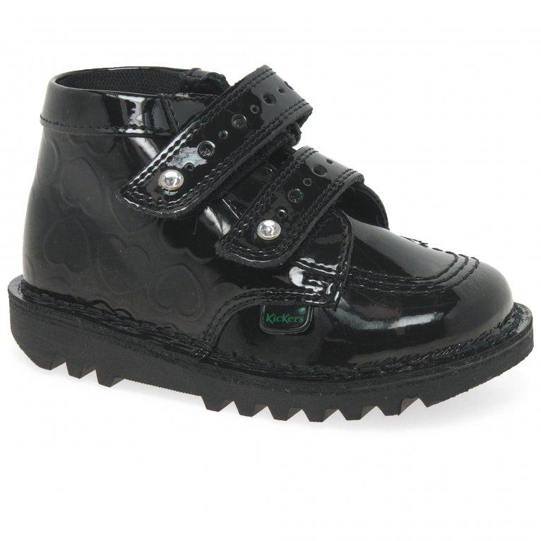 Kickers Hi Heart Girls Infant Boots