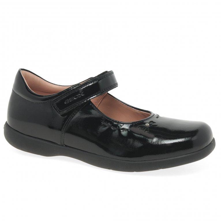 Geox Junior Naimara Girls School Shoes