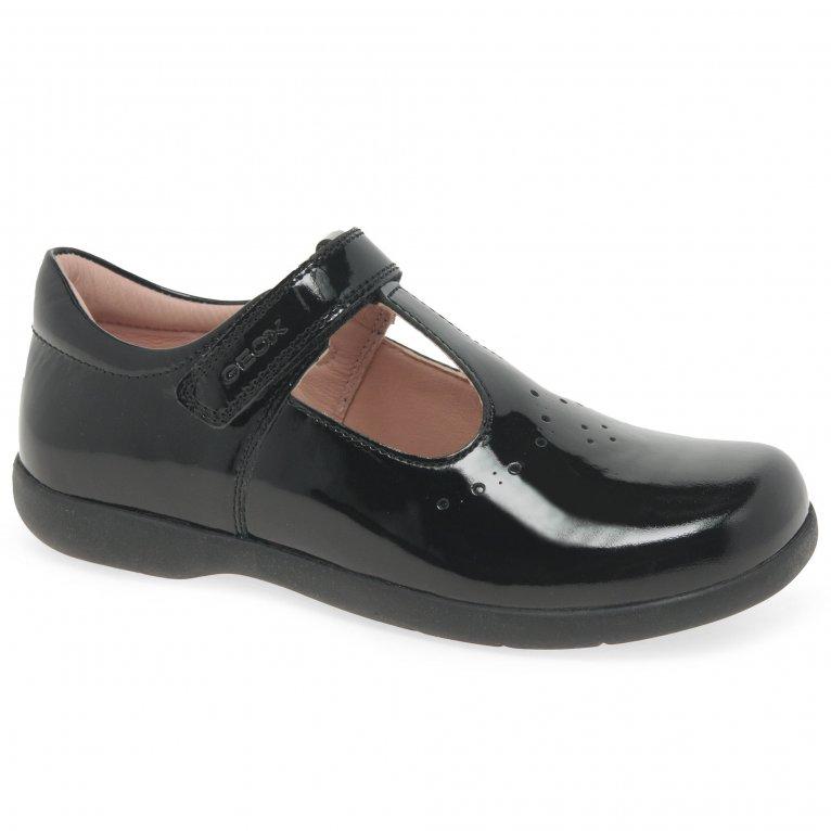 Geox Junior Naimara T-Bar Girls School Shoes