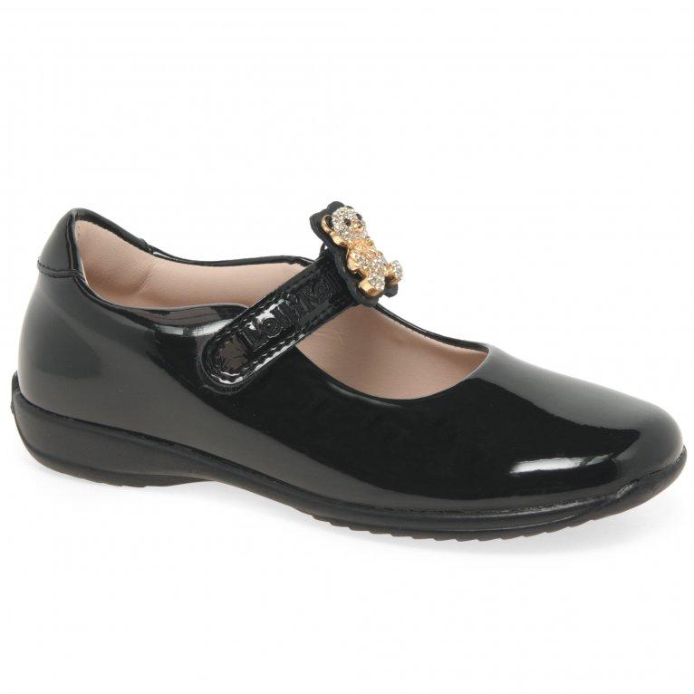 Lelli Kelly Fuzzy Bear Girls School Shoes