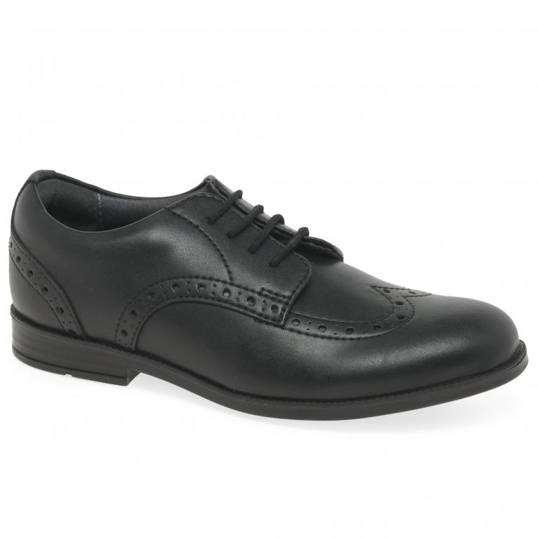 Start-Rite Brogue Pri Vegan Girls School Shoes