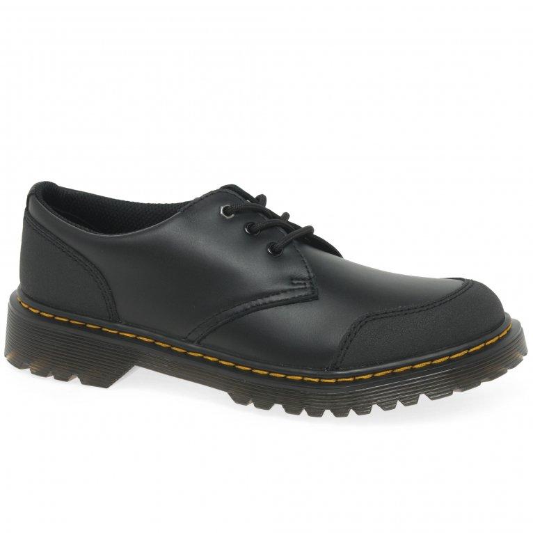Dr. Martens 1460 Overlay Boys Junior School Shoes