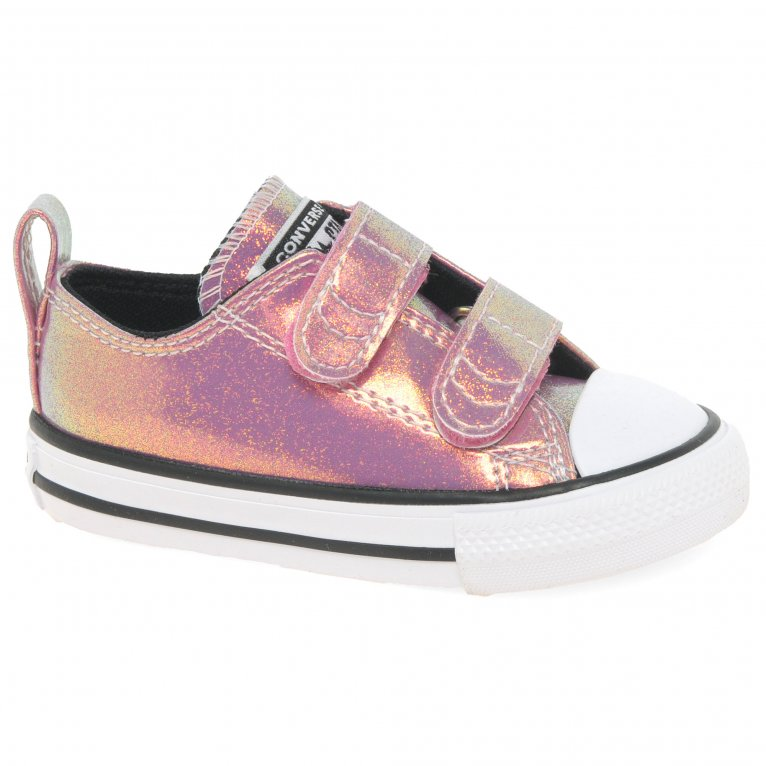 Converse Allstar 2V Oxford Girls Infant Canvas Shoes