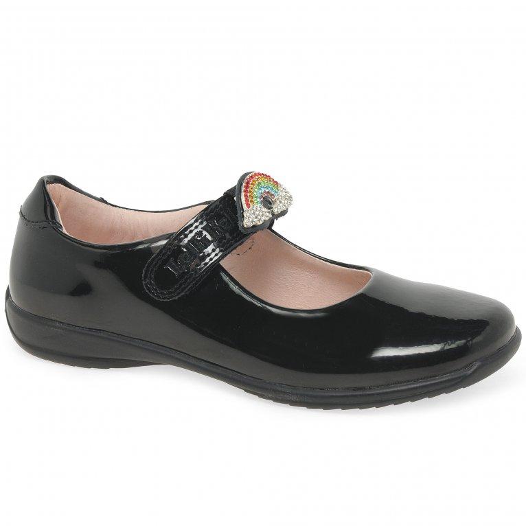 Lelli Kelly Brite 2 Rainbow Girls School Shoes