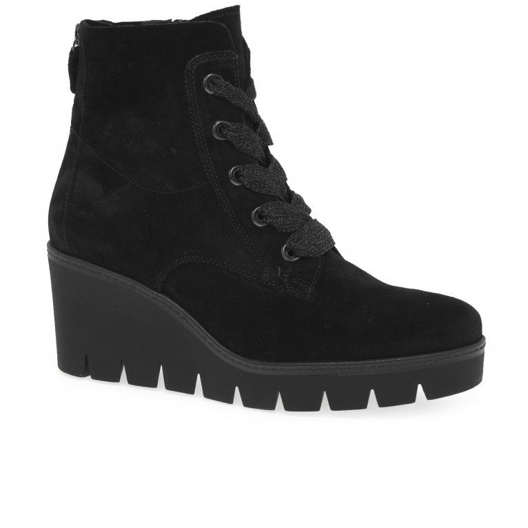 Gabor Ulrika Womens Wedge Heel Ankle Boots