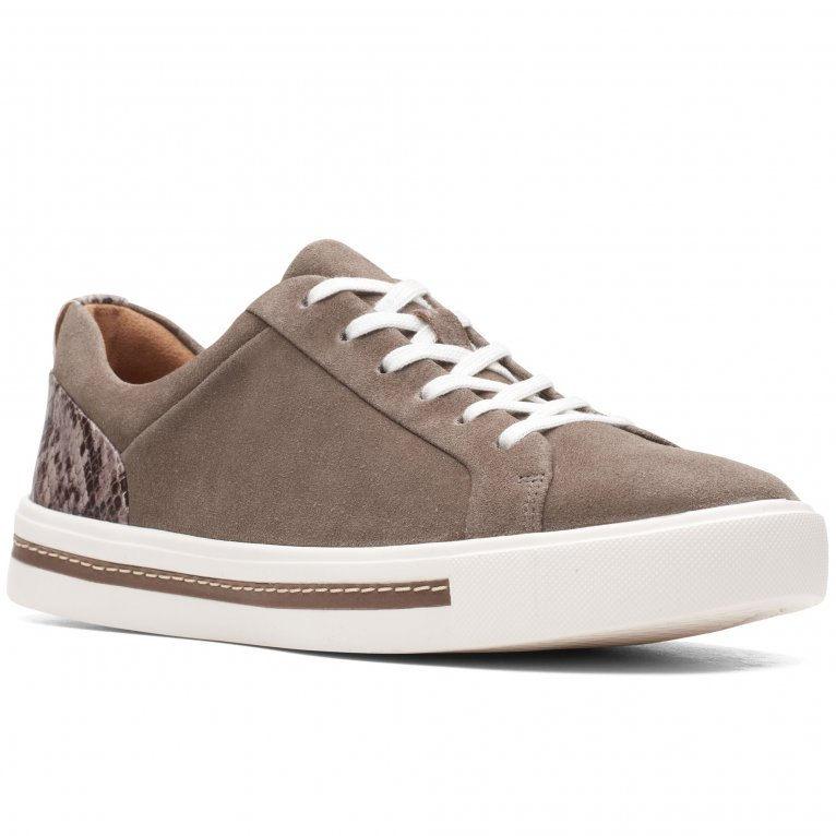 Clarks Un Maui Lace Womens Casual Trainers