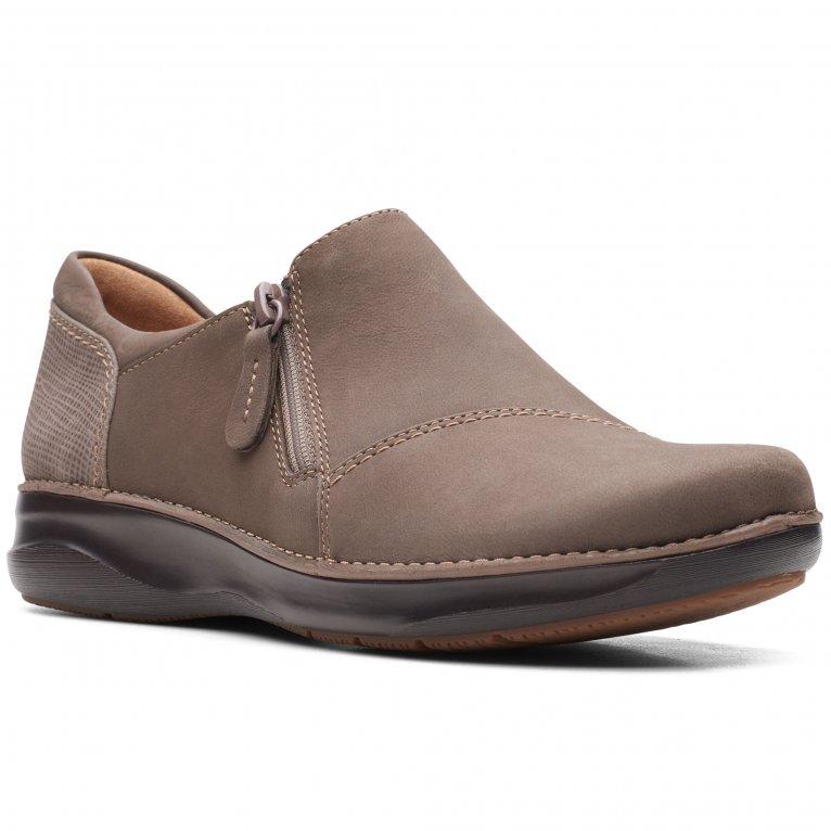 Clarks Appley Zip Womens Shoes