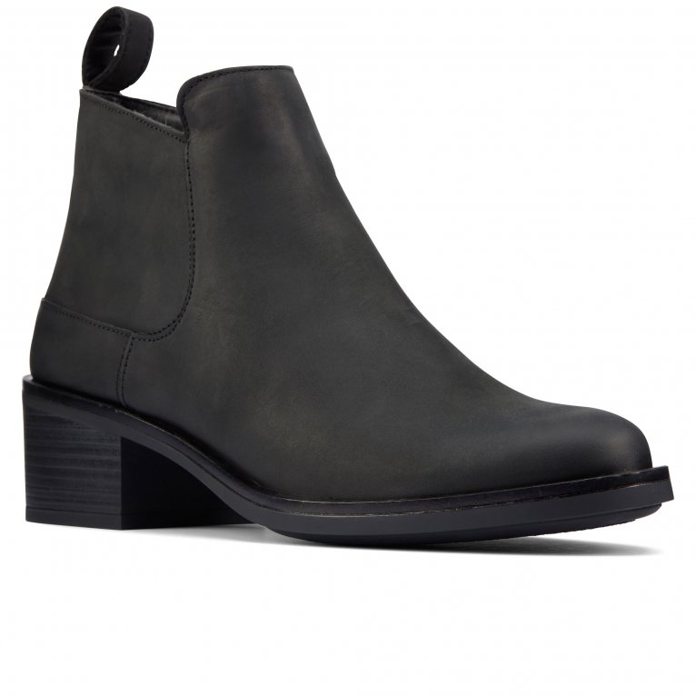 Clarks Memi Zip Womens Chukka Boots