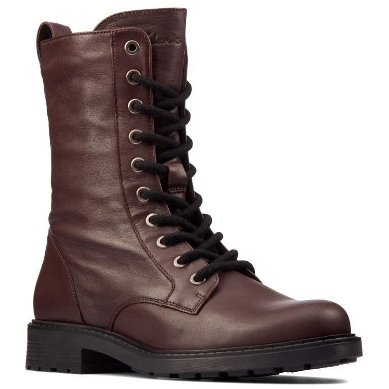 Clarks Orinoco2 Style Womens Military Boots