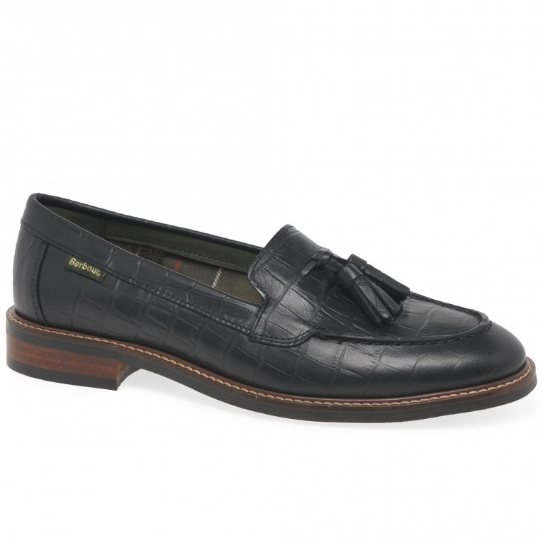 Barbour Branham Womens Tassel Loafers