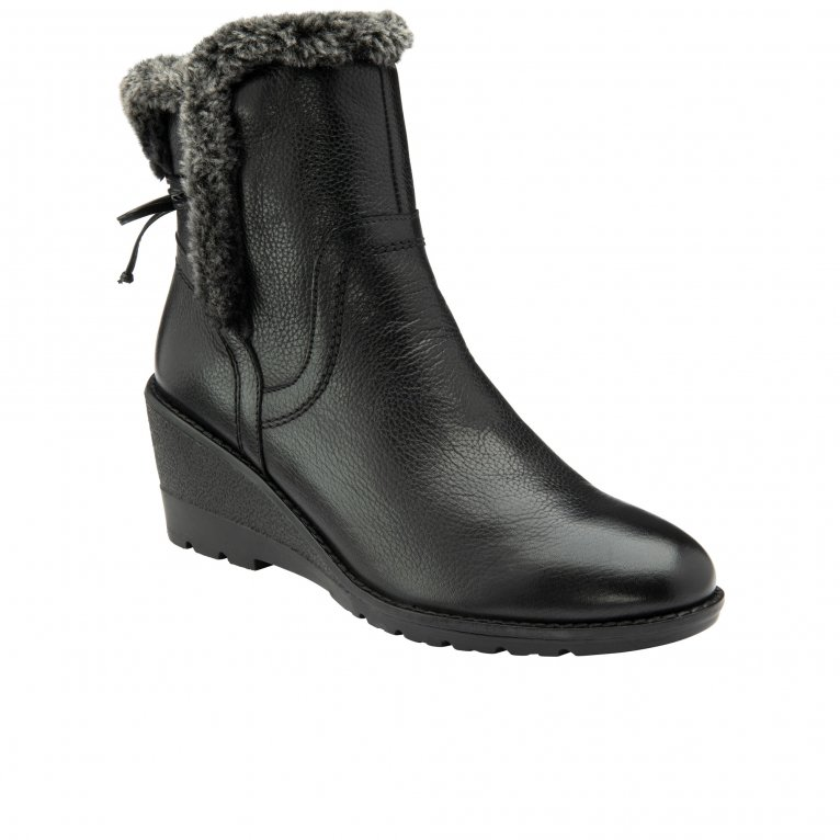 Lotus Stephanie Womens Wedge Ankle Boots