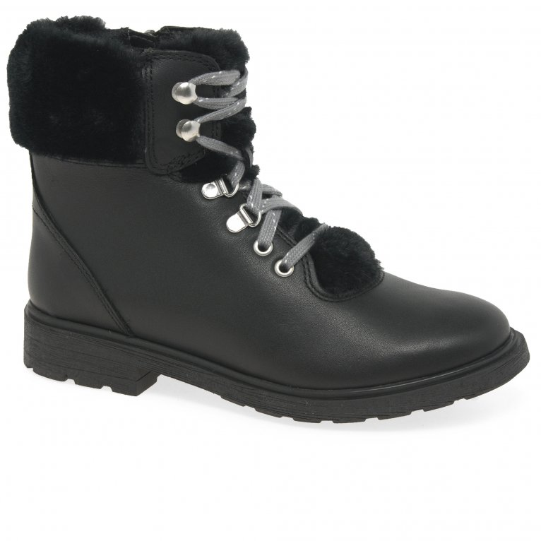 Clarks Astrol Hiker Girls Boots