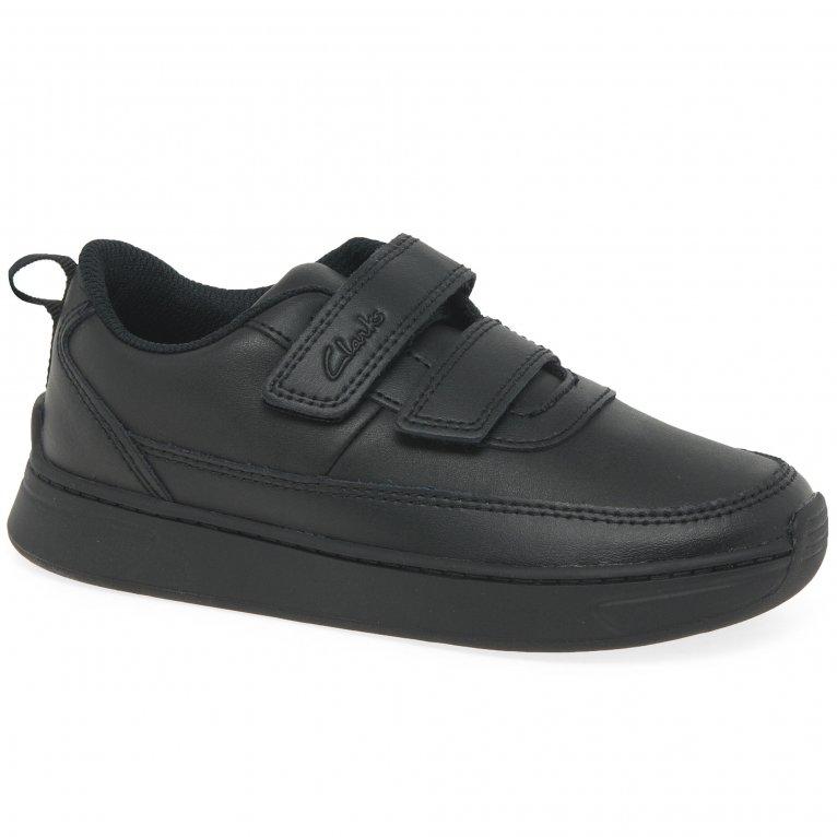Clarks Vibrant Glow K Boys School Shoes