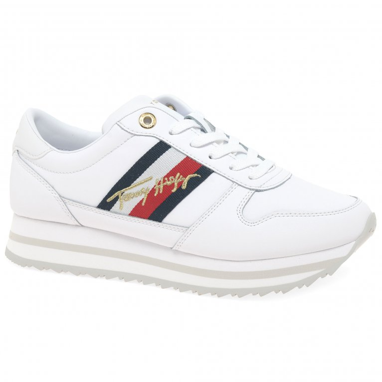 Tommy Hilfiger Signature Runner Womens Trainers