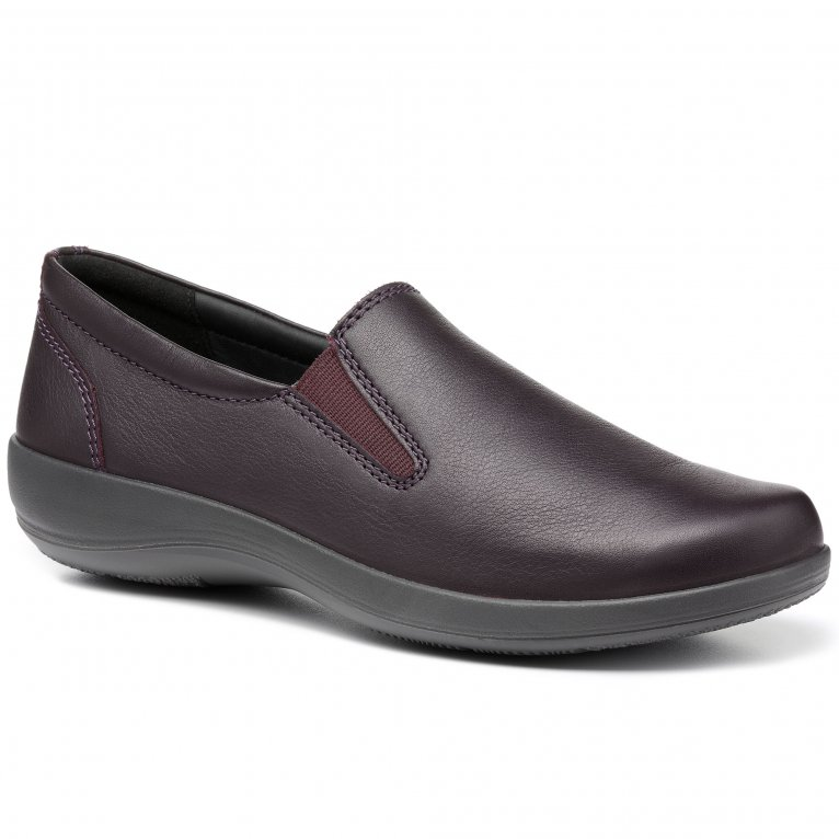 Hotter Glove II Womens Wide Fit Slip On Shoes