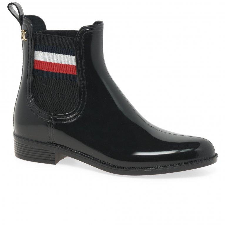 Tommy Hilfiger Corporate Ribbon Womens Rainboots