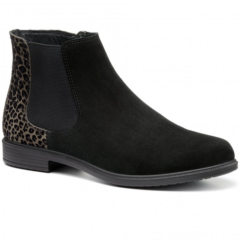 Hotter Tenby Womens Wide Fit Chelsea Boots