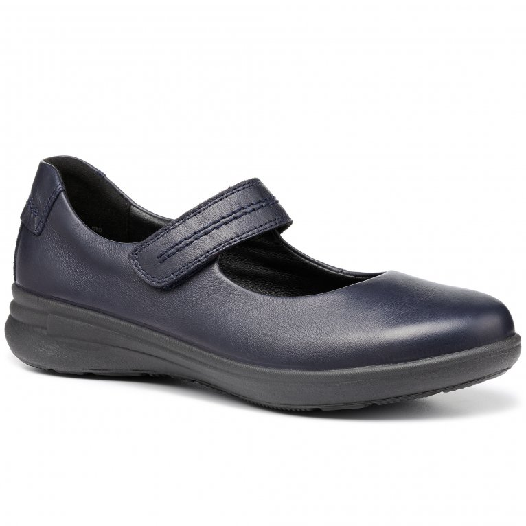 Hotter Barton Womens Wide Fit Mary Jane Shoes