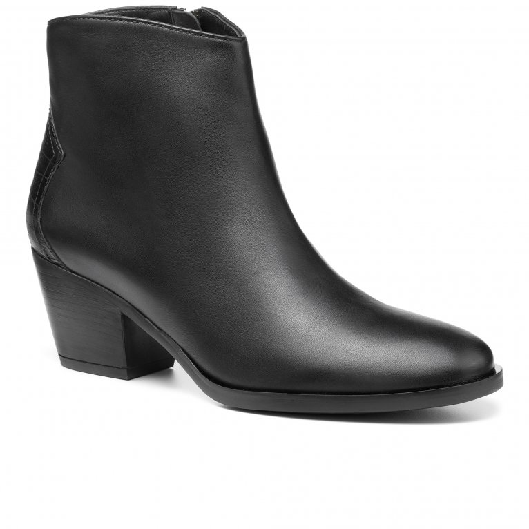 Hotter Delight II Womens Wide Fit Ankle Boots