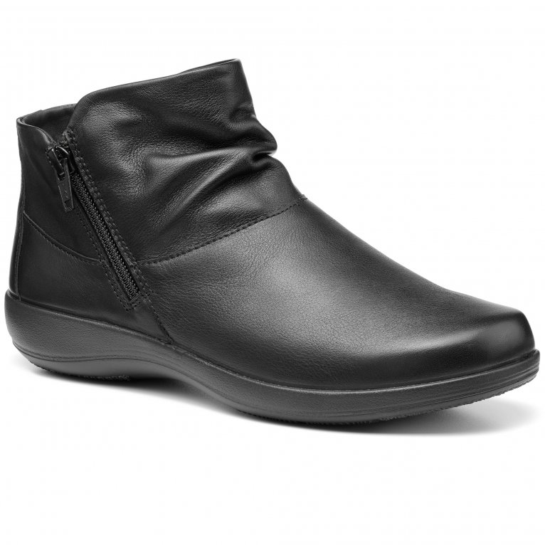 Hotter Murmur Womens Wide Fit Ankle Boots