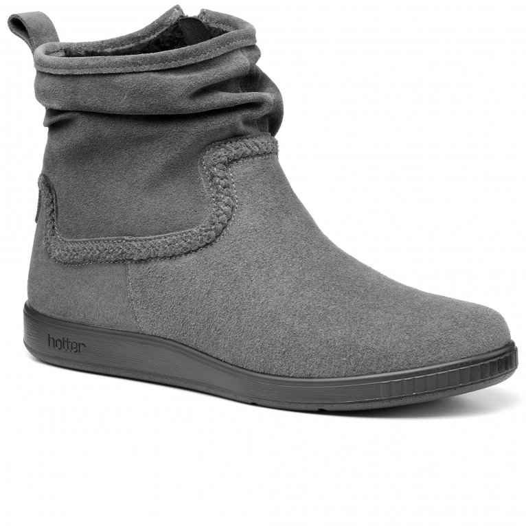 Hotter Pixie II Womens Wide Fit Ankle Boots
