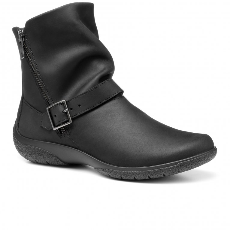 Hotter Rumour Womens Wide Fit Ankle Boots