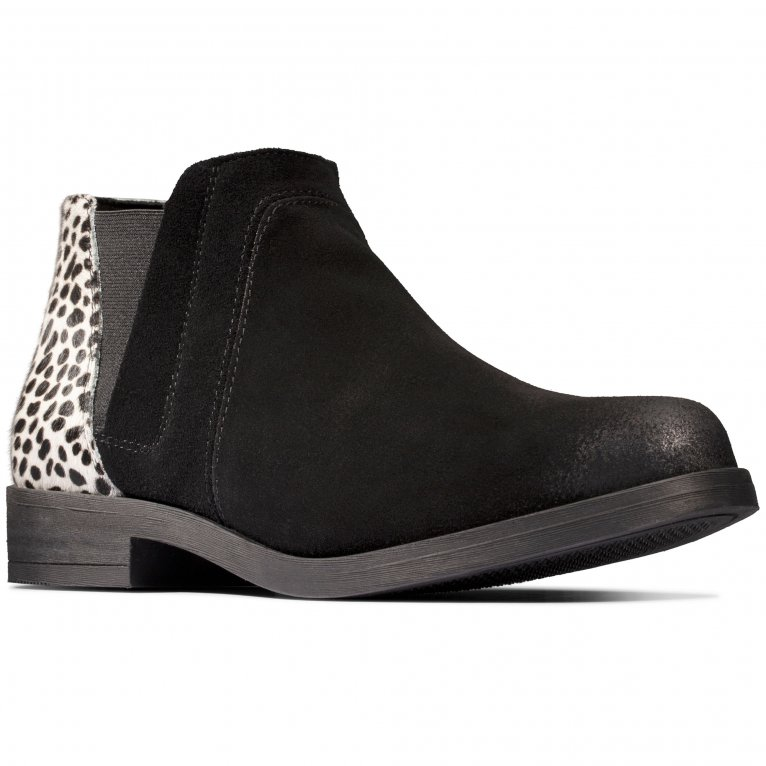 Clarks Demi2 Beat Womens Ankle Boots